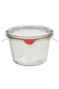 WECK-Sturzglas  1/4 Liter - SECHSERPACK