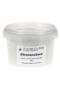 Zitronensäure  200 g