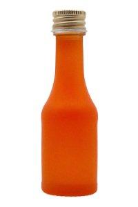 Portionsflasche 20 ml orange mattiert