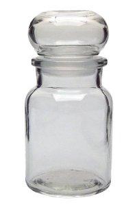 Stopfenglas 150 ml rund