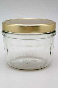 Sturzglas 450 ml mit Facetten