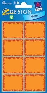 Tiefkühletiketten orange