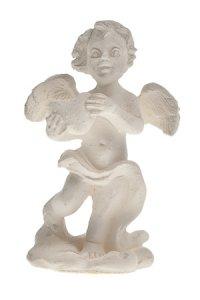 Miniatur zum Aufkleben Engel mit Herz