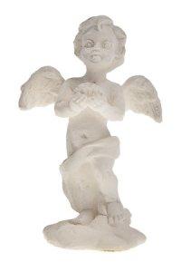 Miniatur zum Aufkleben Engel mit Muschel