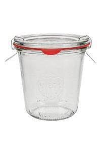 WECK-Sturzglas 1/5 Liter hoch - SECHSERPACK
