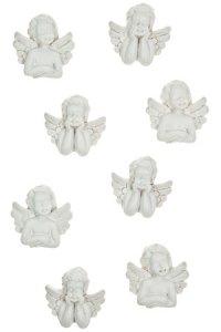 Miniaturen zum Aufkleben Engel - 8er Set