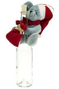 Weihnachtsplüschtier Maus zum Anhängen