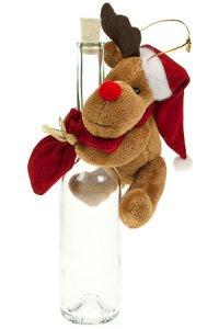 Weihnachtsplüschtier Rentier zum Anhängen