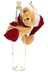 Weihnachtsplüschtier Teddybär zum Anhängen