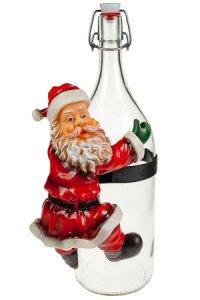 Weihnachtsmann Rohrkletterer