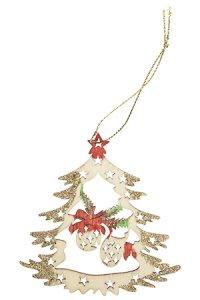 Weihnachtsanhänger Weihnachtskugeln beglimmert