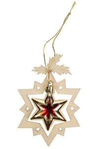 Weihnachtsanhänger Stern