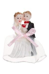 Miniatur zum Aufkleben Hochzeit
