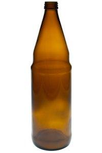 Saftflasche 750 ml braun