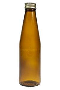 Saftflasche 250 ml braun