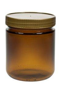 Honigglas 500 g braun