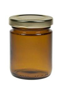 Rundglas  156 ml braun