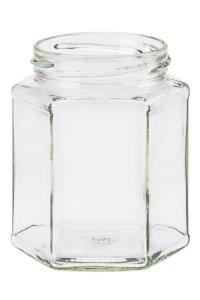 Sechseckglas 324 ml