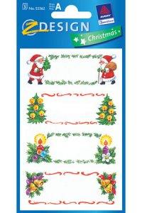 Weihnachtsetiketten Weihnachtsmotive