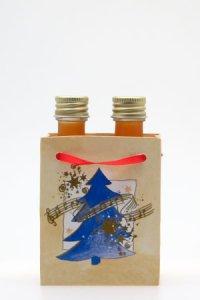 Flaschentasche klein - Tannenbaum
