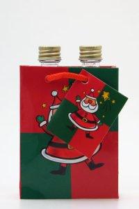 Flaschentasche klein - Weihnachtsmann