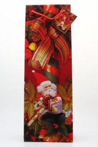 Flaschentasche groß - Weihnachtsmann