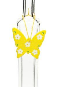 Anhänger Schmetterling gelb
