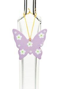 Anhänger Schmetterling lila