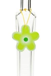 Anhänger Blume grün
