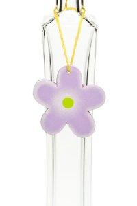 Anhänger Blume lila