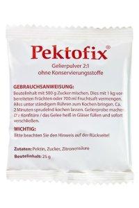 Pektofix Classic 2:1 / 3:1 ohne Konservierungsstoffe,   25 g