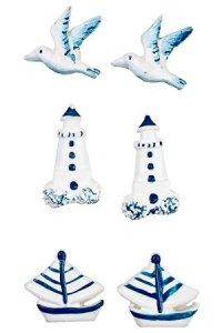Miniaturen zum Aufkleben Küstenmotive