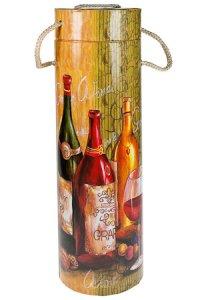 Flaschenbox Wein grün