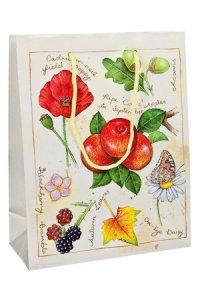 Geschenktasche Äpfel und Beeren