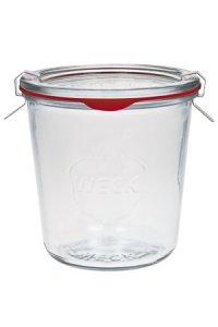 WECK-Sturzglas   1/2 Liter - SECHSERPACK