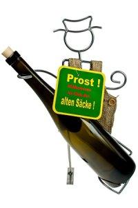 Flaschenhalter Alter Sack
