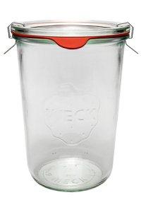 WECK-Sturzglas 3/4 Liter - SECHSERPACK
