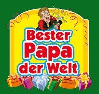Flaschen-Etikett Bester Papa der Welt