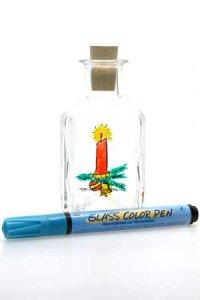 Glasmalstift hellblau