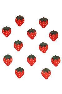 Deko-Erdbeeren - 12er Pack