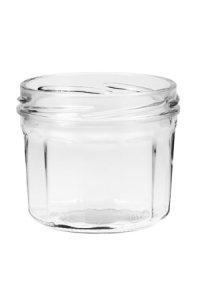 Sturzglas 240 ml mit Facetten