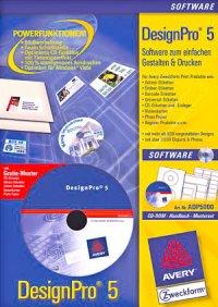 Etikettensoftware DesignPro 5 Vollversion