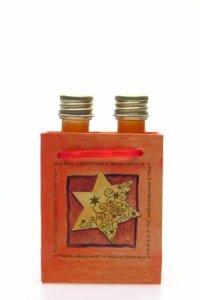 Flaschentasche klein - Stern
