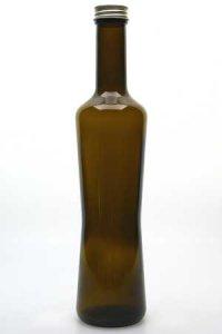 Schmuckflasche 500 ml braun