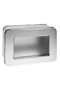 Metalldose mit Fenster klein