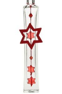 Filz-Anhänger Stern rot