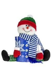 Geschenkbox Schneemann groß