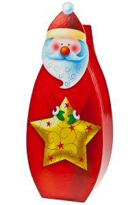 Flaschenbox Weihnachtsmann