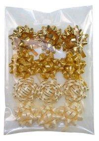 Schleifen gold - 12er Set