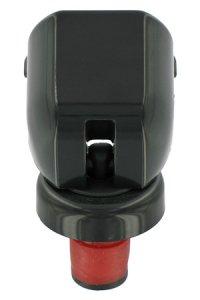 Sicherheits-Sektflaschenverschluss schwarz